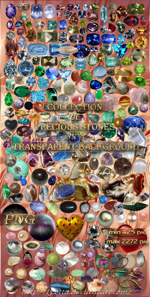 Скачать Collection of precious stones