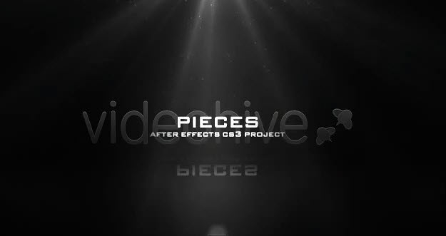 VideoHive Pieces — After Effects Project