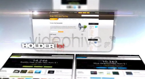 Videohive Web Pages — After Effects Project