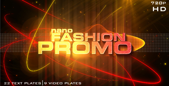 Videohive Nano Fashion Promo — After Effects Project