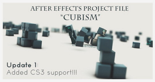 Cubism — After Effects Project(Videohive)