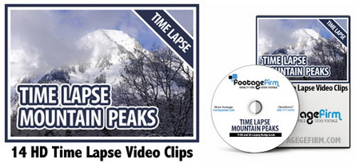 Footage Firm: HD Time Lapse Mountain Peaks